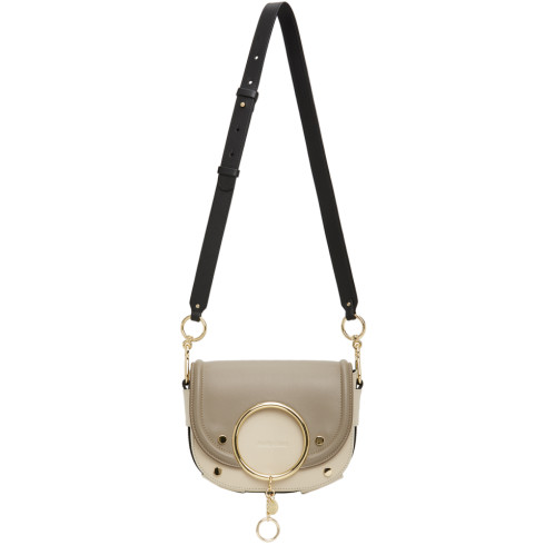 See by Chloe Grey Mara Crossbody Bag