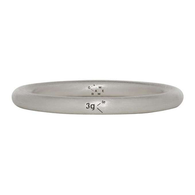 Le Gramme Bracelets LE GRAMME SILVER BRUSHED LE 3 GRAMMES BANGLE RING