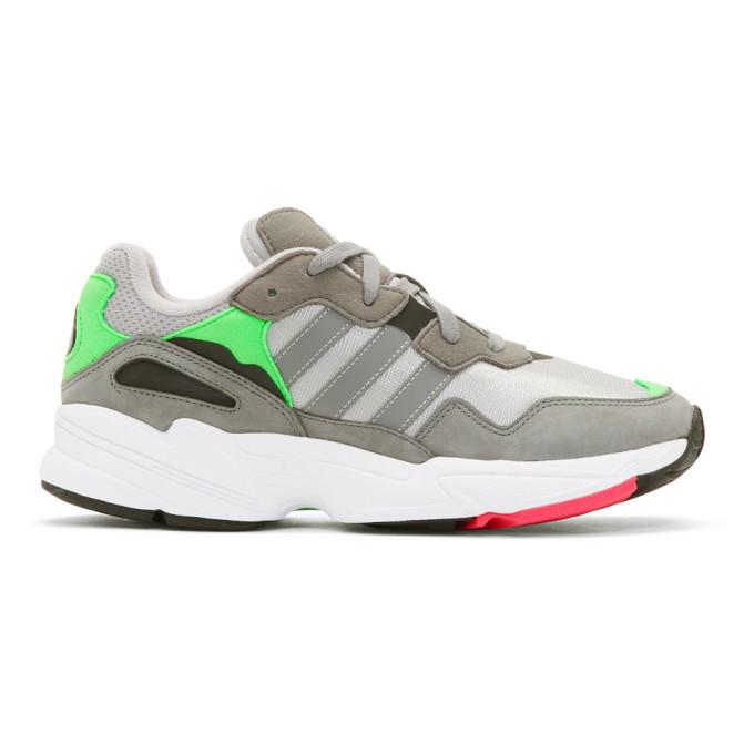 Adidas Originals ADIDAS ORIGINALS GREY YUNG 96 SNEAKERS