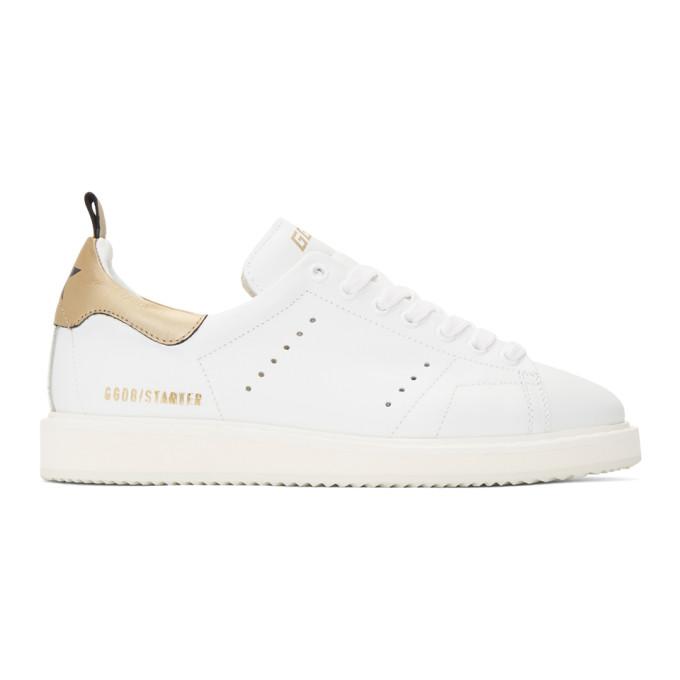 Golden Goose Starter White Leather