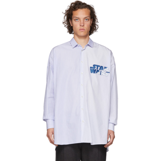 Etro Star Wars Shirt Patch Comfort In 0200 Blue