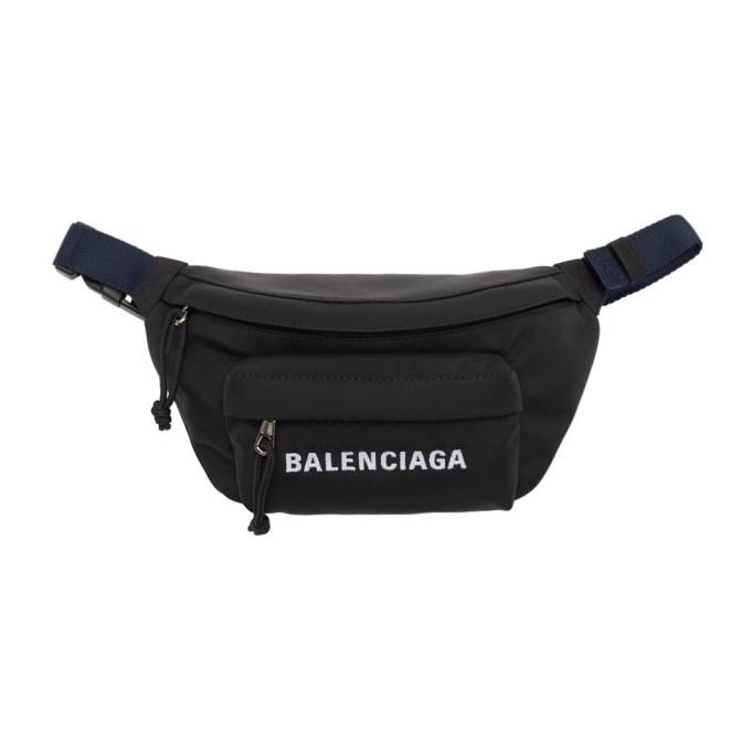 Balenciaga Black Small Wheel Belt Bag