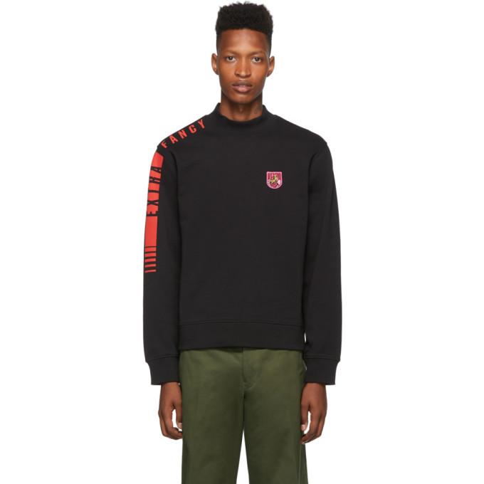 Kenzo Worldwide Print Sweatshirt In 99 Black