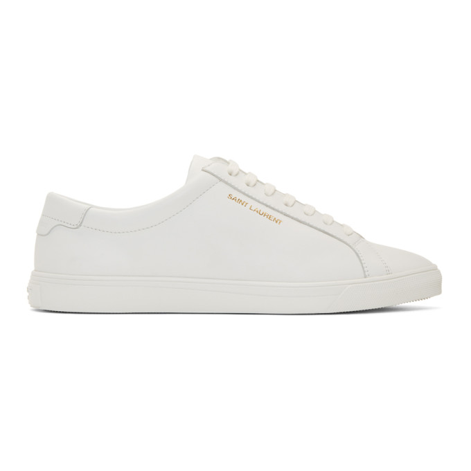 Leather Sneakers In 9030 White