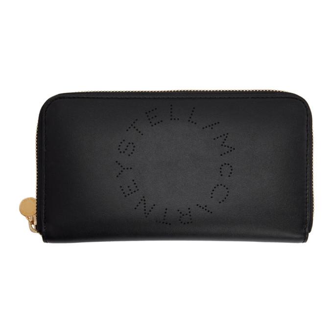 Stella Mccartney Women's 502893W99231000 Black Polyurethane Wallet
