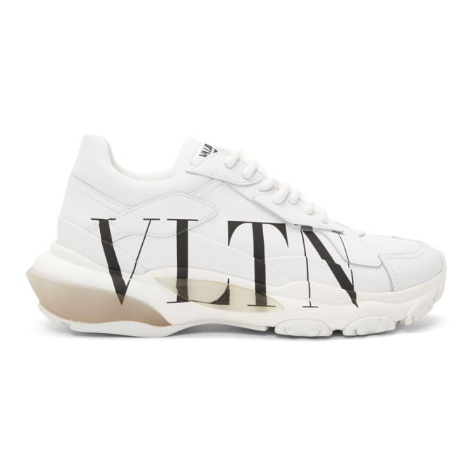 Valentino Garavani Bounce White Leather