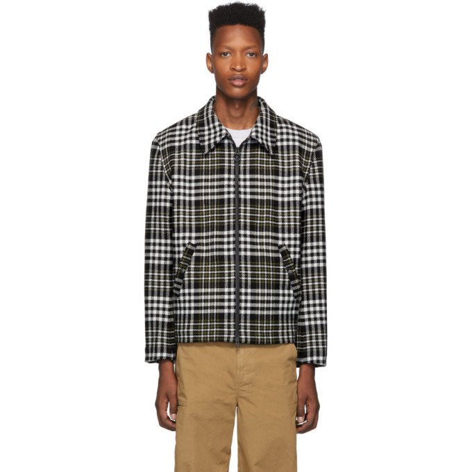 Ami Alexandre Mattiussi Prince Of Wales Check Wool-blend Jacket In 950 Multi