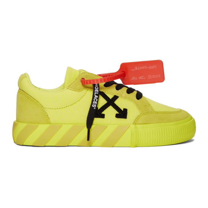 Yellow Low Vulcanized Sneakers