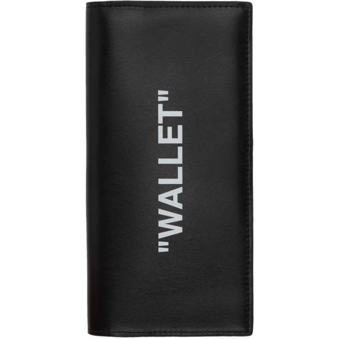 Off-White Wallets OFF-WHITE BLACK QUOTE YEN WALLET