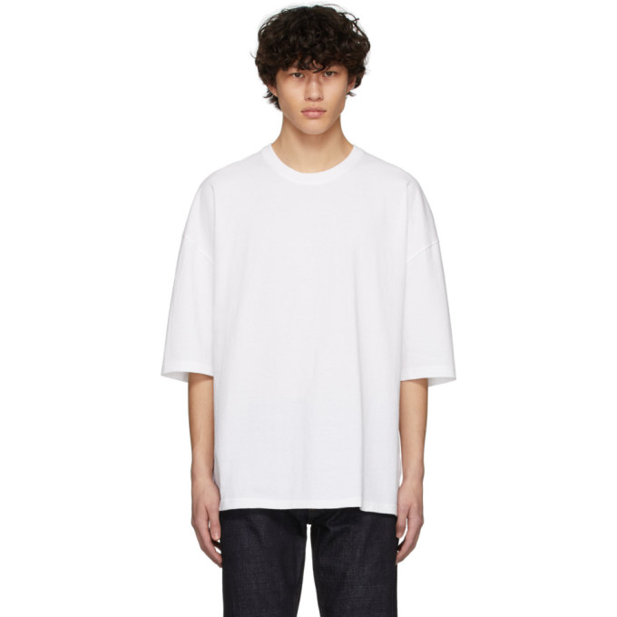 Bottega Veneta Sunrise Light Cotton T-shirt In 9122 Opticw