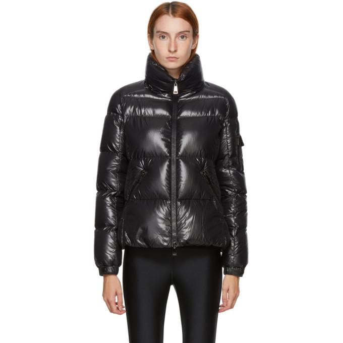 Moncler Moyade Short Down Puffer Jacket In 999 Black