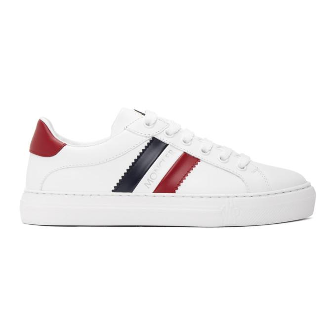 Moncler Leni Scarpa Platform Sneaker In 002 White/