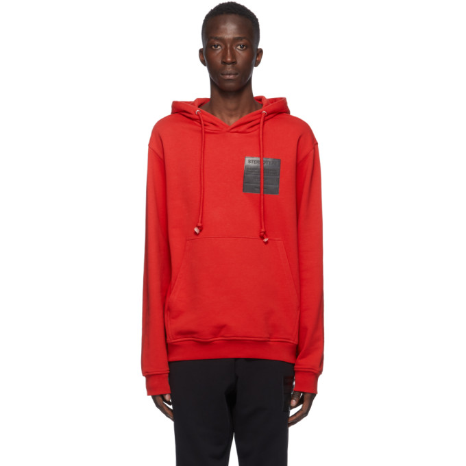 Maison Margiela Stereotype Hoodie In 314 Red