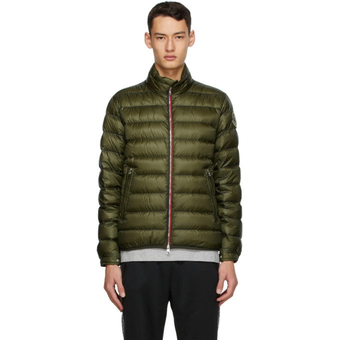 Moncler Genius X Undefeated 1952 Conrow Water Resistant Lightweight Down Puffer Jacket In 833 Armygre