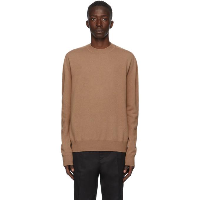 Jil Sander Knitwear In Brown Cashmere