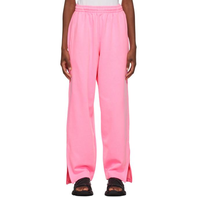 Balenciaga Women's Oversized Fleece Sweatpants In 5501 Bubble