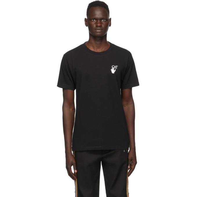 Off-white Pascal Arrow Short-sleeve T-shirt In 1001 Blkwhi