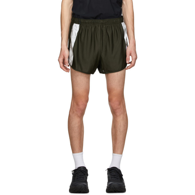 Satisfy Khaki Short Distance 2.5 Inches Shorts In Olive