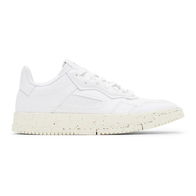 Adidas Originals White Sc Premiere Gore-tex Leather Sneakers