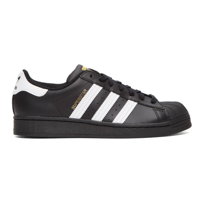Adidas Originals Superstar Adv Low-top Sneakers In Blk/wht