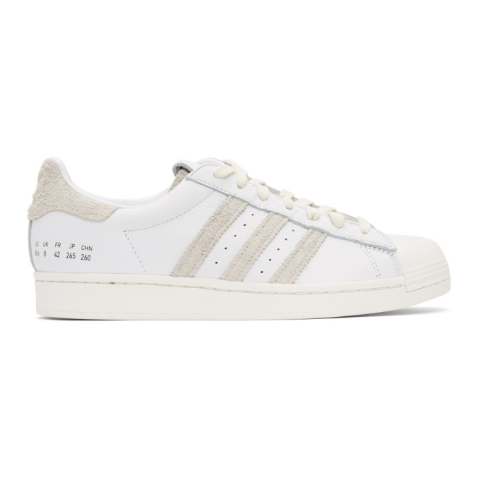 Adidas Originals Superstar Sneakers In Wht/cry