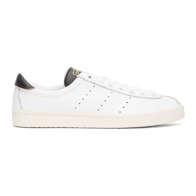 Adidas Originals Adidas Lacombe White, Core Black & Cream In Wht/blk