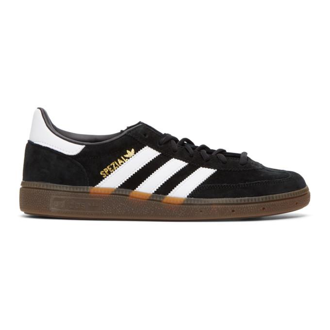 Adidas Originals Handball Spezial Trainers - Core Black/gum Colour: C In Blkwhtgum