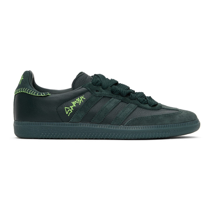 Adidas Originals Men's Adidas X Jonah Hill Samba Low-top Sneakers In Mineral Gre