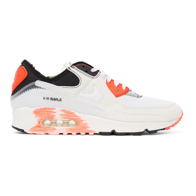 Nike NIKE WHITE AIR MAX 90 PREMIUM ARCHETYPE SNEAKERS