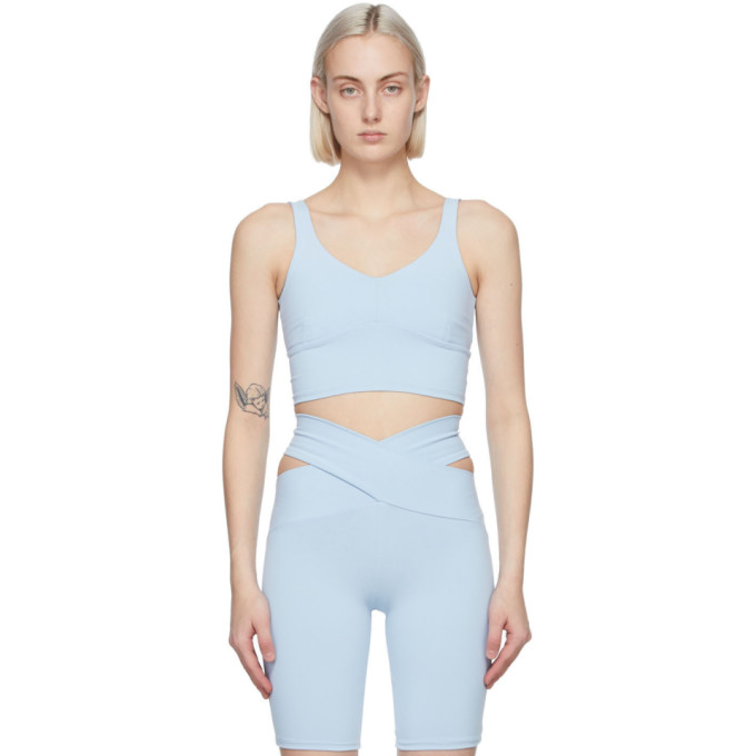 Live The Process LIVE THE PROCESS BLUE CRYSTAL SPORT TOP