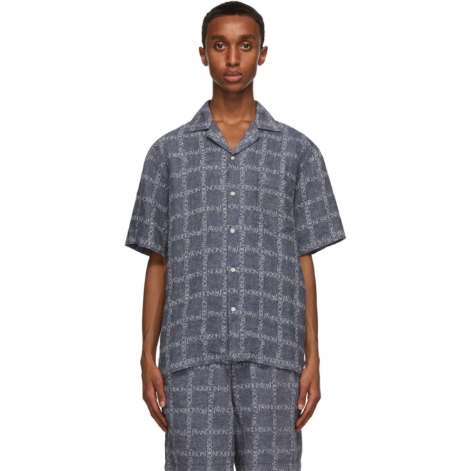 Jw Anderson J.w. Anderson Shirt In Navy 888