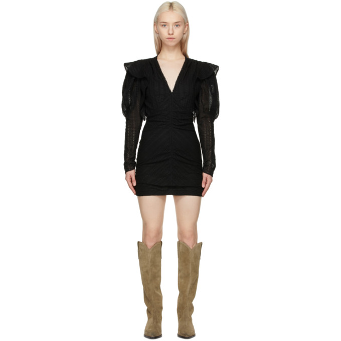 Isabel Marant ISABEL MARANT BLACK GETYA DRESS