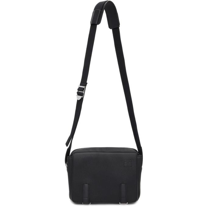LOEWE BLACK XS MILITARY MESSENGER BAG