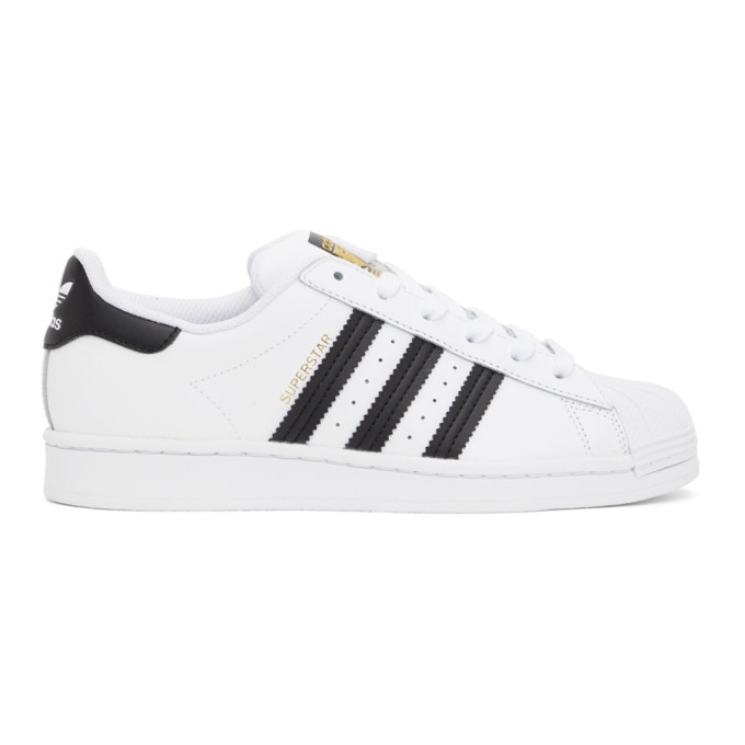 Adidas Originals Adidas Superstar 80s Sneakers - White In White/black