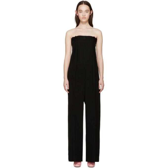 roksanda female roksanda black mathilda jumpsuit