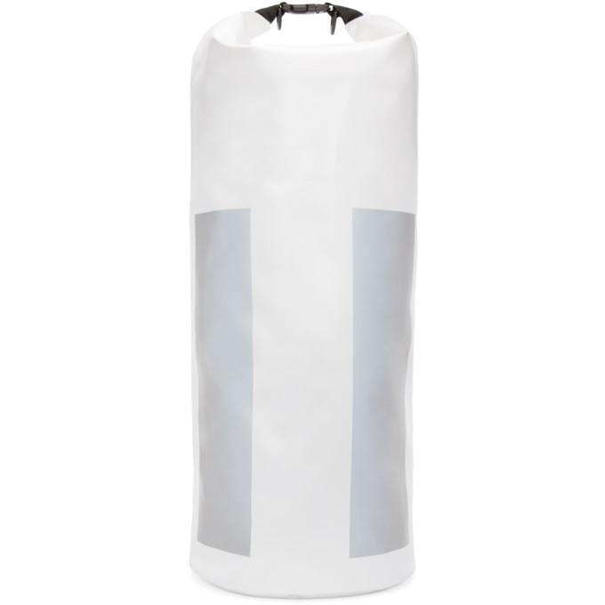 Image of 11 by Boris Bidjan Saberi White Reflective 35L X-Plorer Backpack