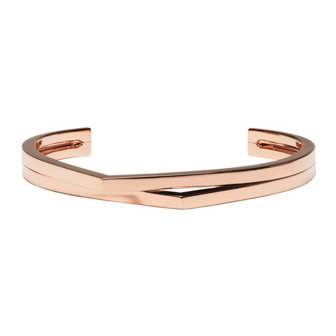 Repossi Rose Gold 2 Rows Antifer Cuff