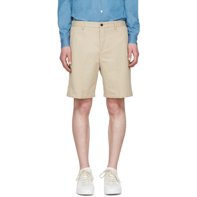 Image of Éditions M.R Beige Chino Shorts