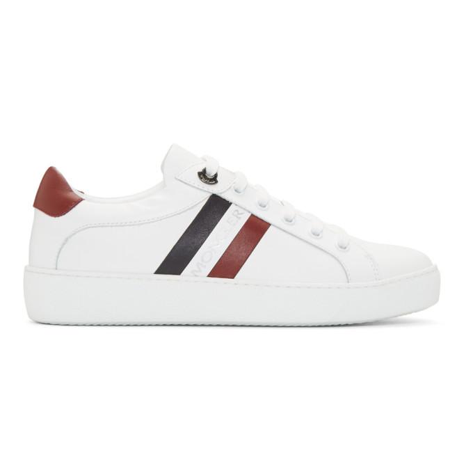 Moncler White Leni Sneakers