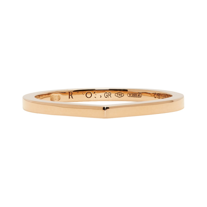 Image of Repossi Rose Gold Antifer Ring