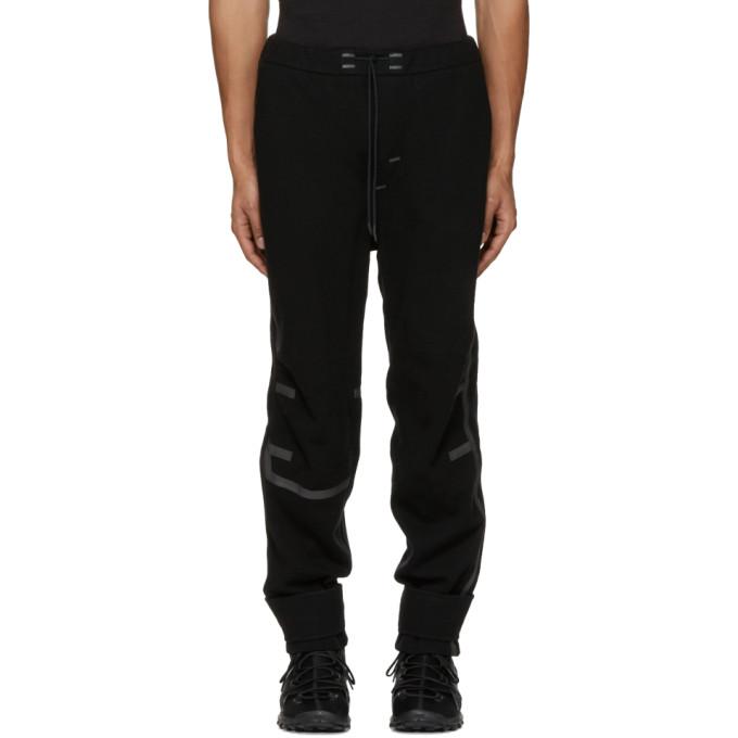 Image of Y-3 SPORT Black Wool Lounge Pants
