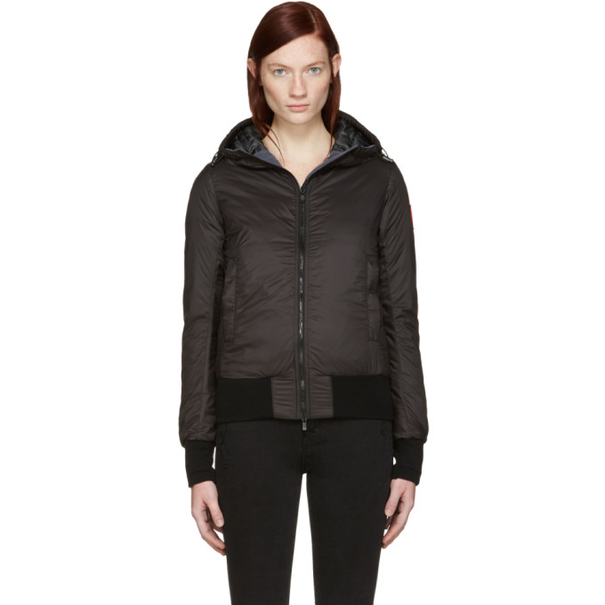 Image of Canada Goose Black Down Dore Jacket