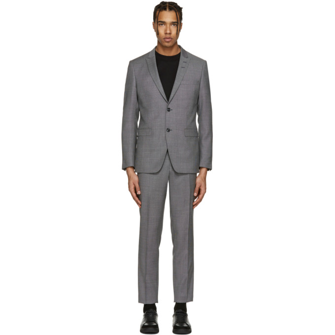 Image of Tiger of Sweden Grey Atwood Suit