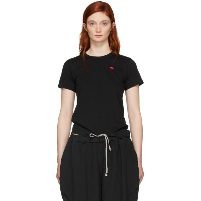 Comme des Garçons Play Black Small Heart T-Shirt