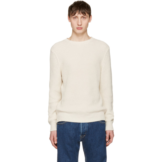 Image of A.P.C. Beige Travel Sweater