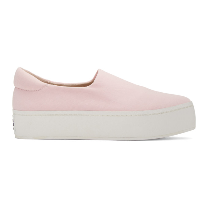 OPENING CEREMONY SSENSE EXCLUSIVE PINK PLATFORM SLIP-ON SNEAKERS