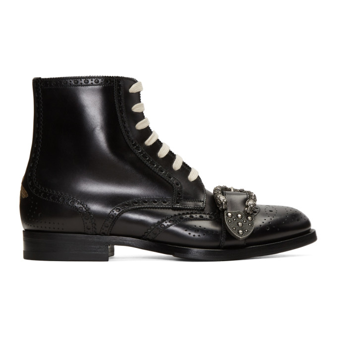 Gucci Black Queercore Boots