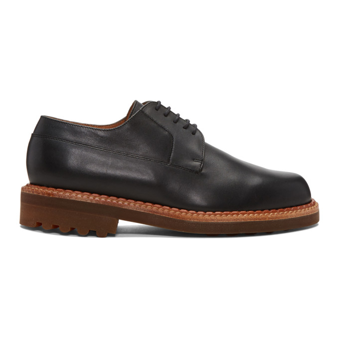 Image of Clergerie Black Doc Derbys