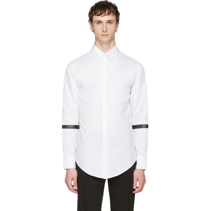 Image of Pyer Moss White Barrett Shirt