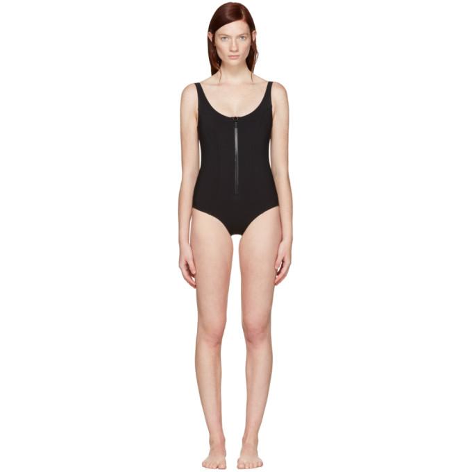 Image of Lisa Marie Fernandez Black Jasmine Swimsuit